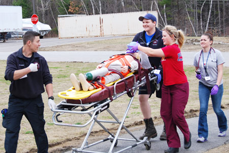 EMT trauma patient care